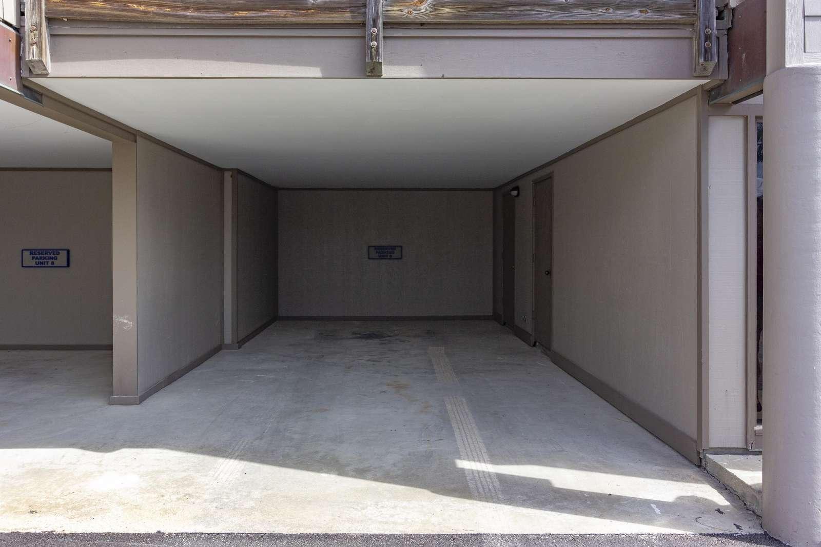 Reserved Carport