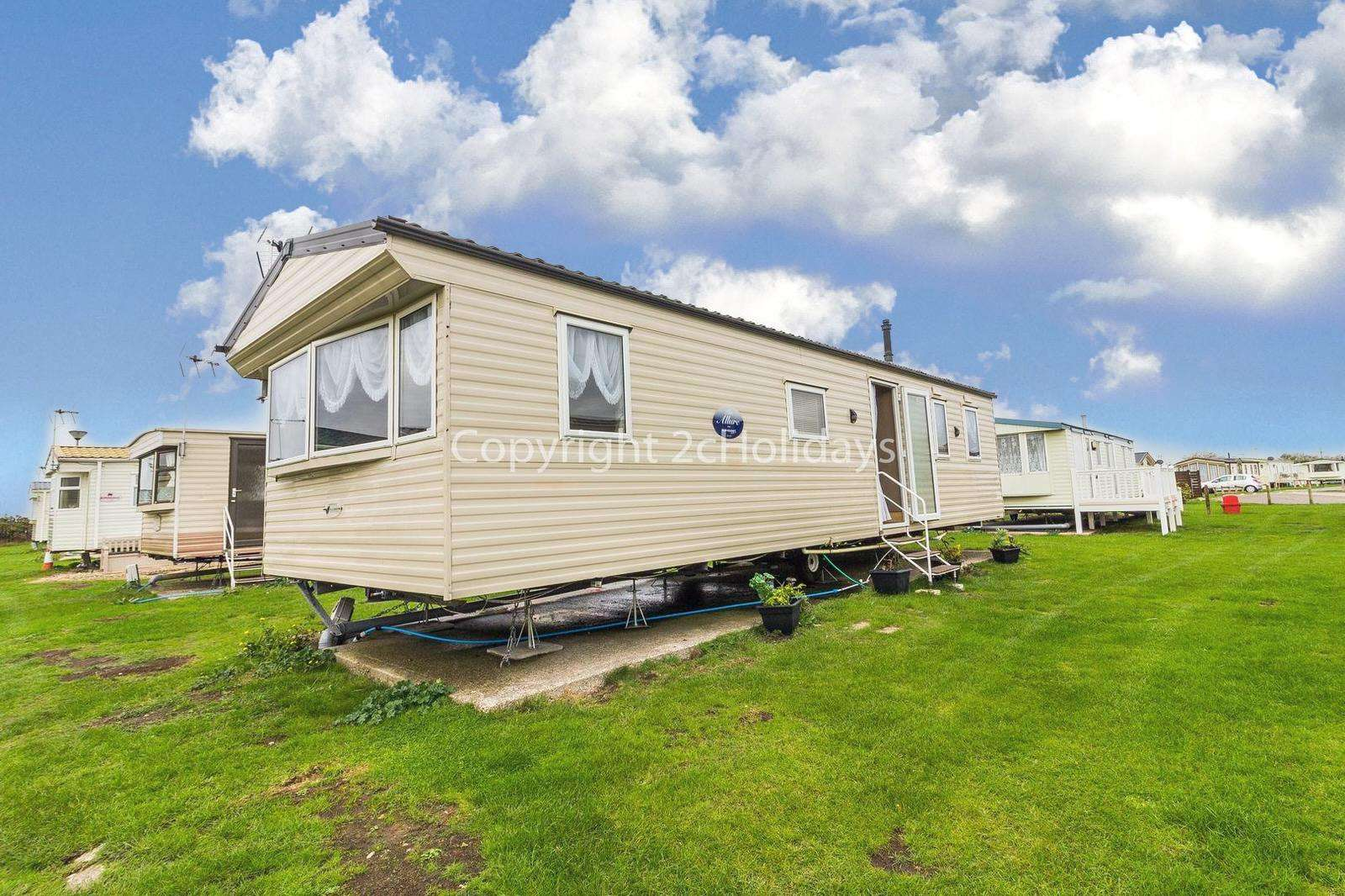 Superb caravan with homely touches.