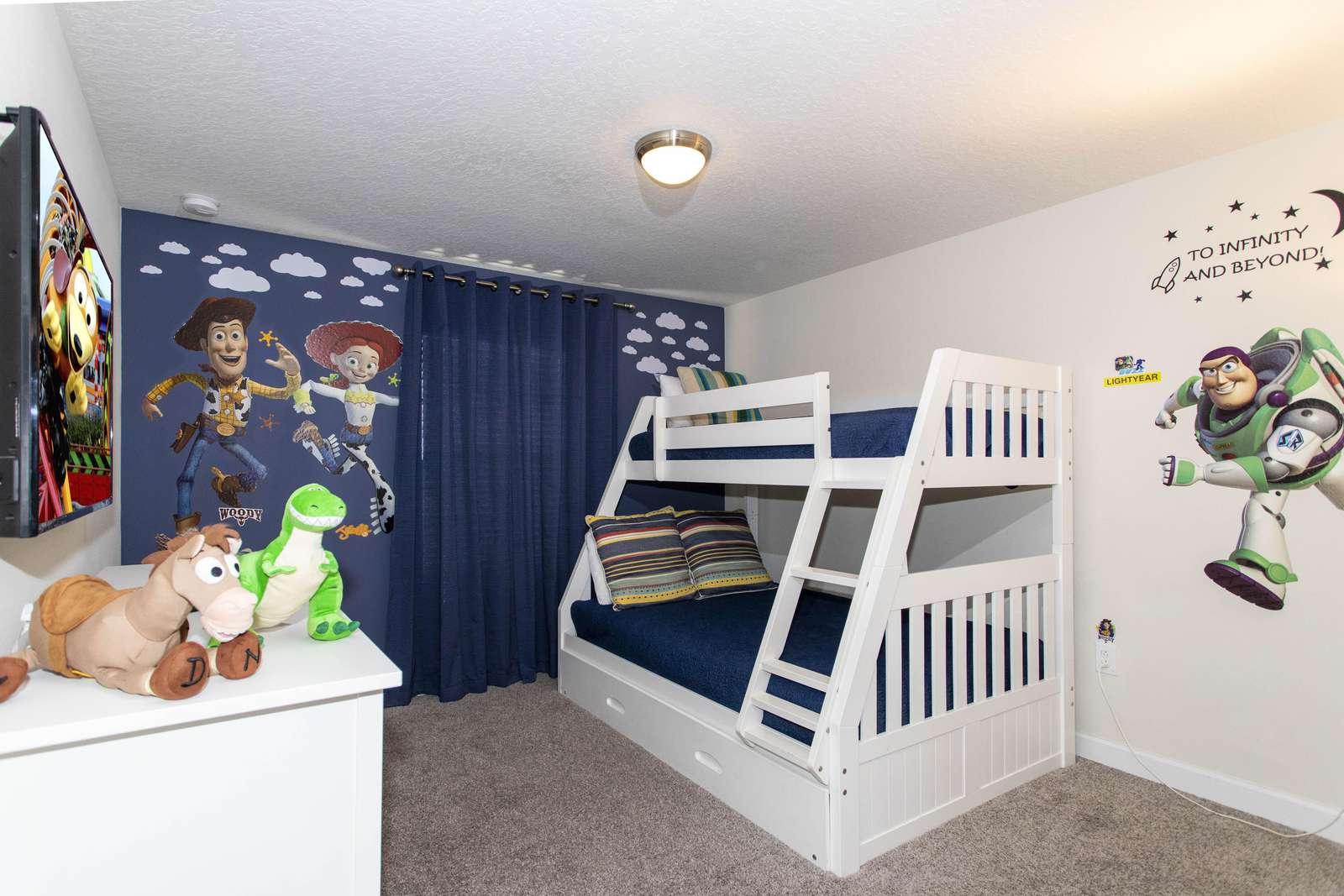 Toy Story Room (Sleep 4) 2ND FLOOR - property
