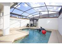 Private pool in screened patio thumb