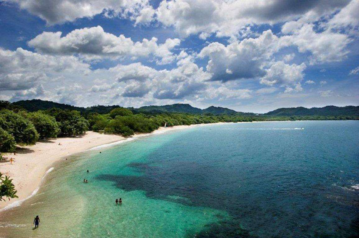 Nearby Playa Conchal, a white sand beach perfect for snorkeling