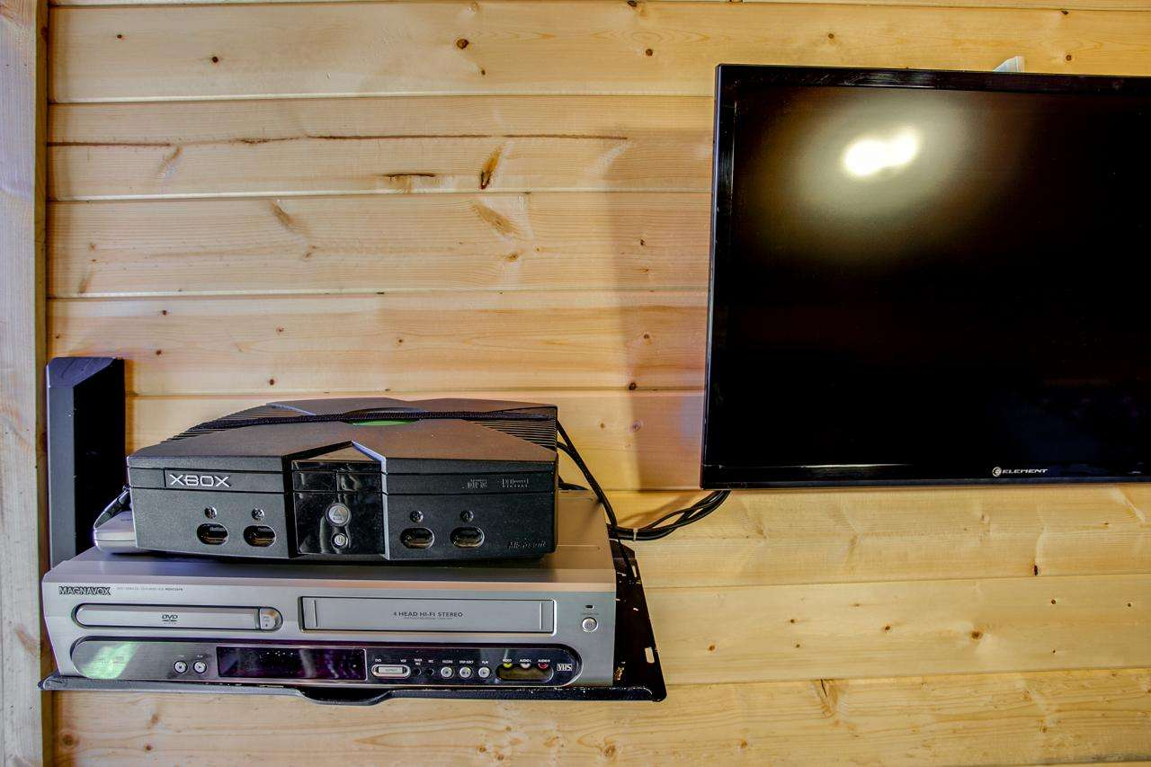 Xbox/TV in Game Room