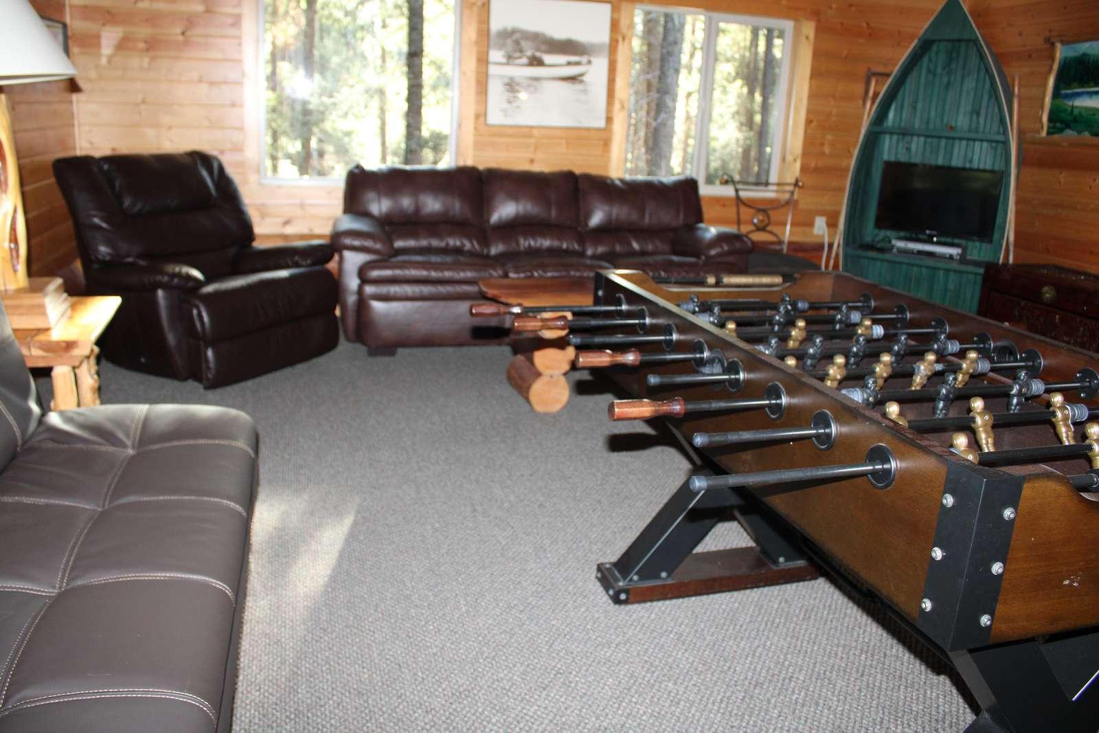 Game Room Upstairs Open Loft