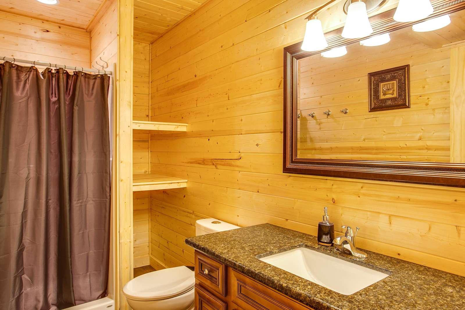 Bathroom 1: Main Floor