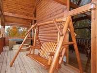 Hot Tub & Bench Swing overlooking Amazing Views thumb