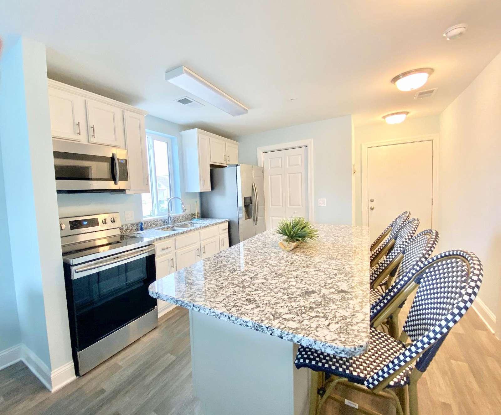 Open floor plan with an abundance of natural light throughout