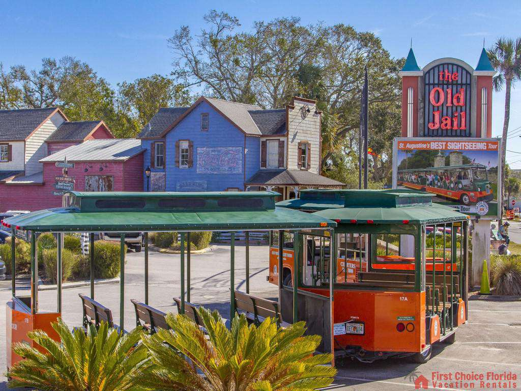 St. Augustine Sightseeing Trolly