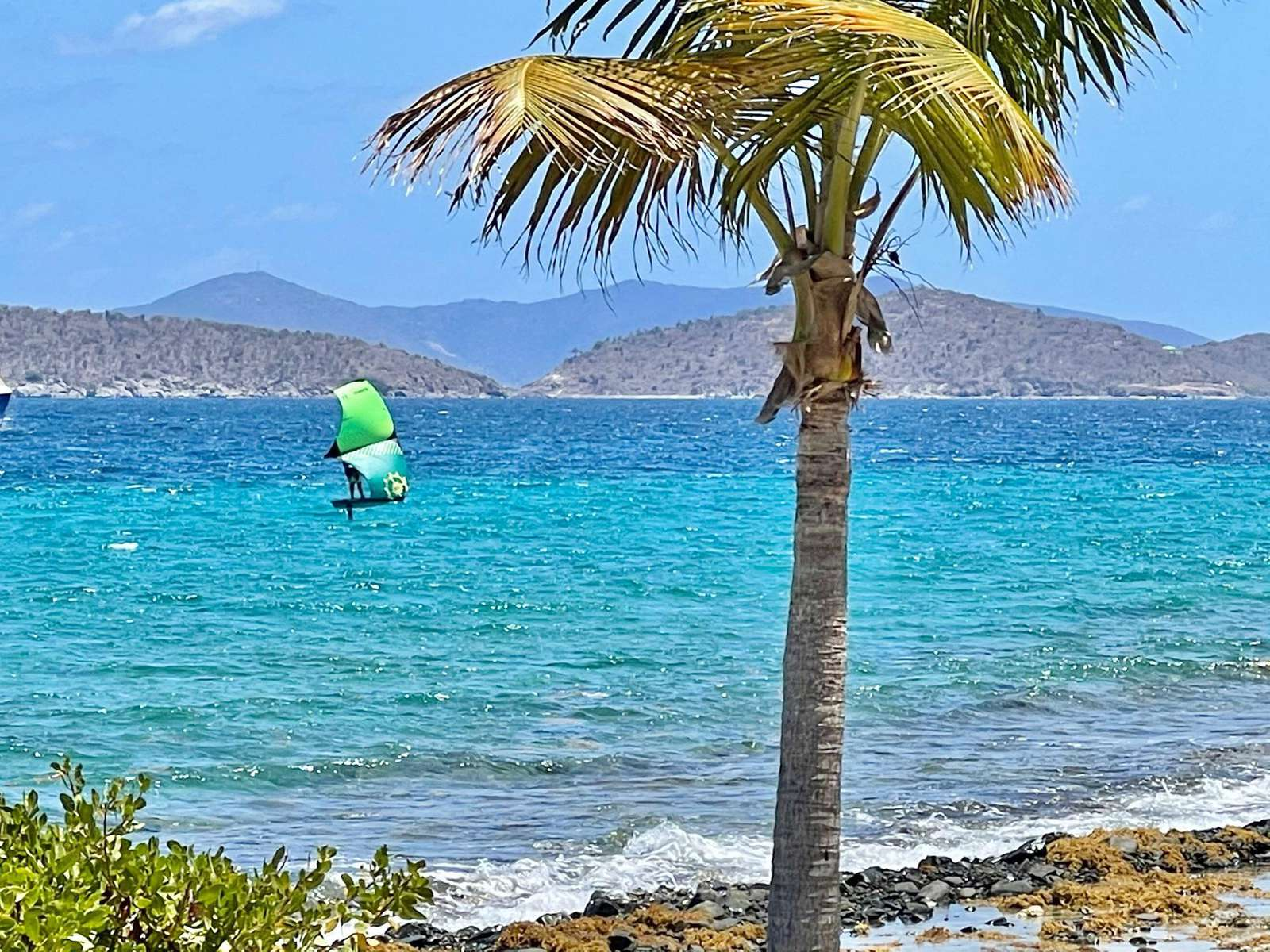 Kite Surfer right out your back door!