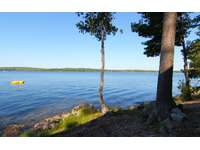 Private location with 150 feet of frontage on the lake thumb