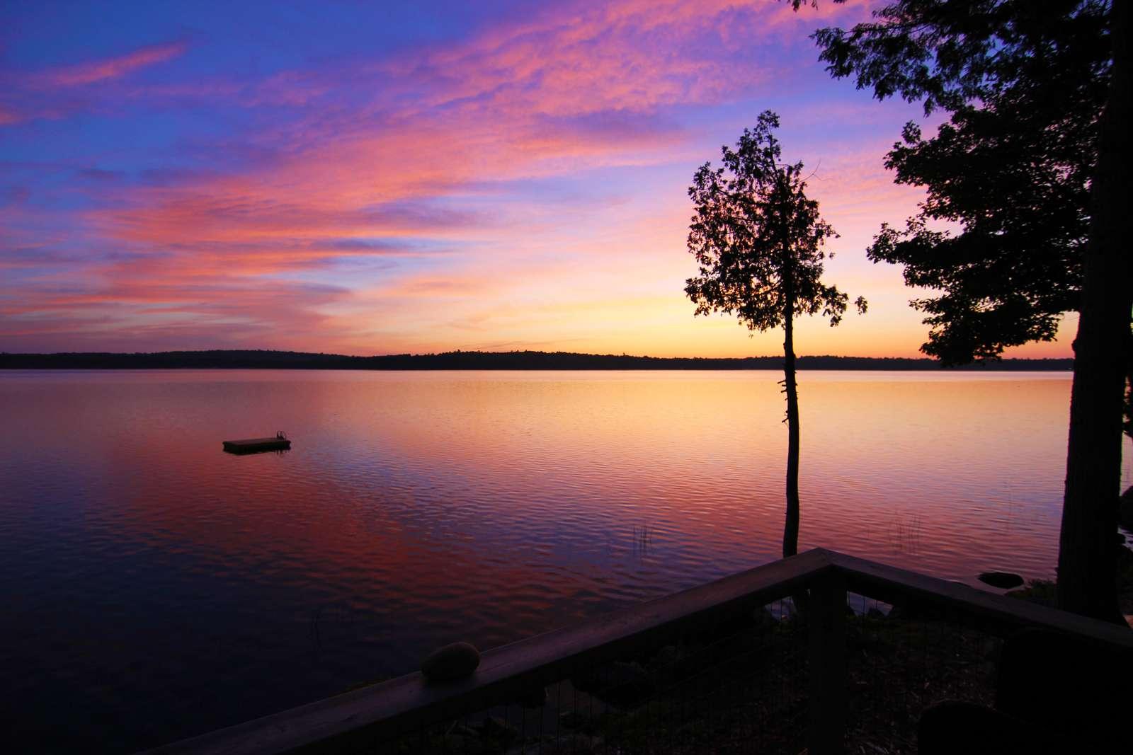 Sunrise on Beech Hill Pond - property