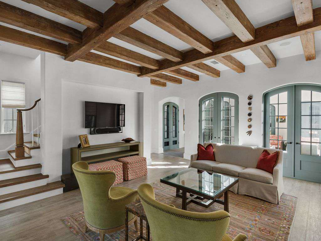 Open and light and spacious family room