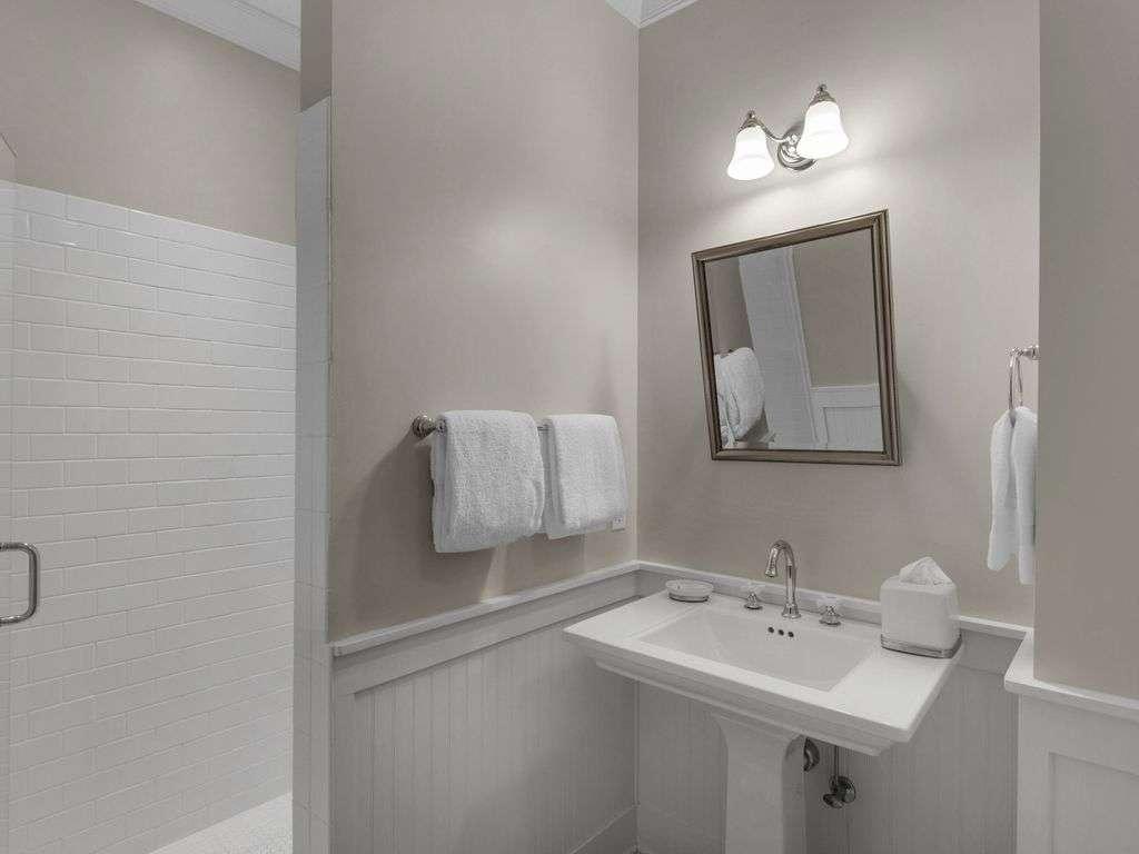 Ensuite bathroom  larger walk-in shower