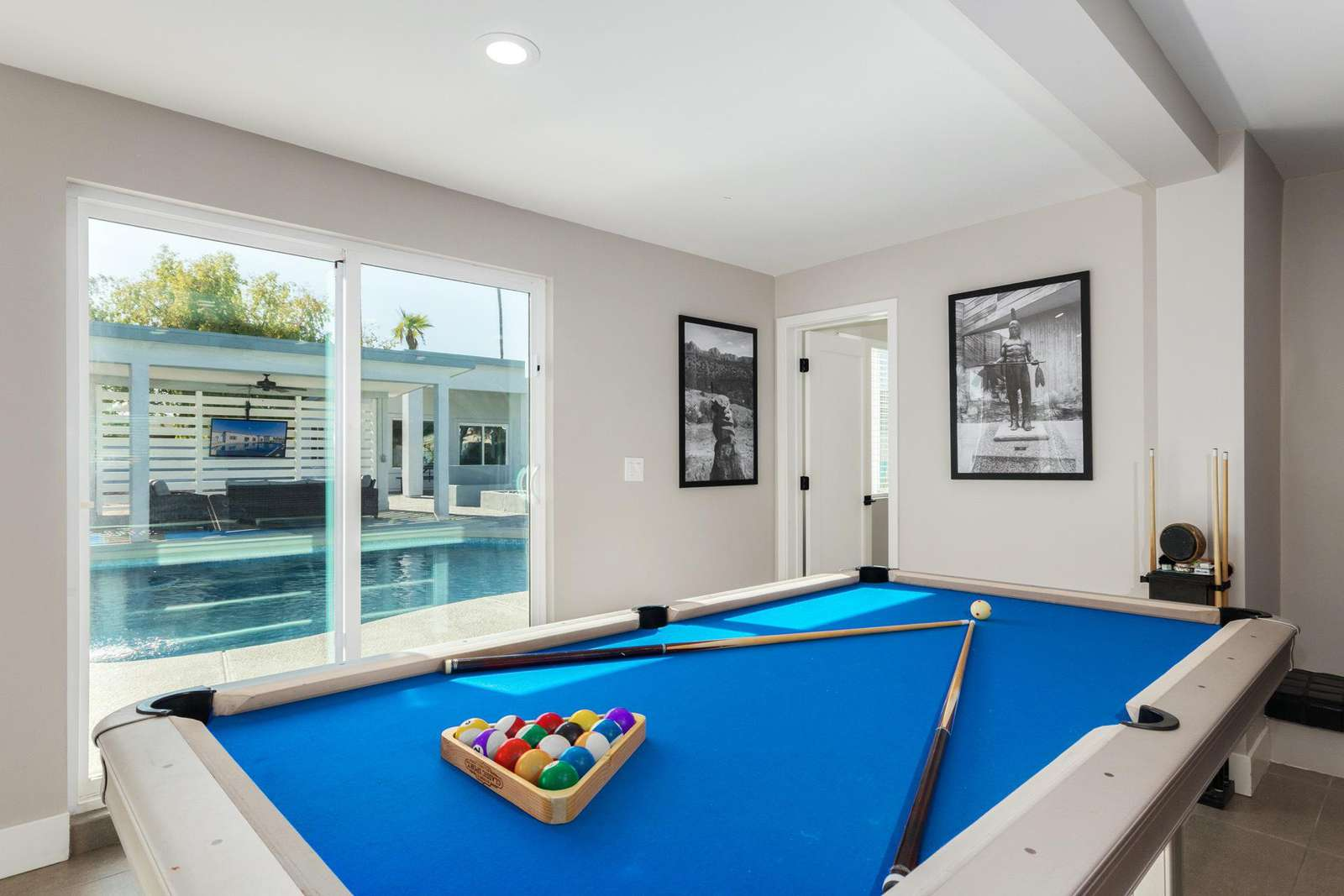 Pool Table Has Great Pool Views