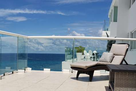 #2703 Huge Ocean View Terrace with Lagoon Sunset View