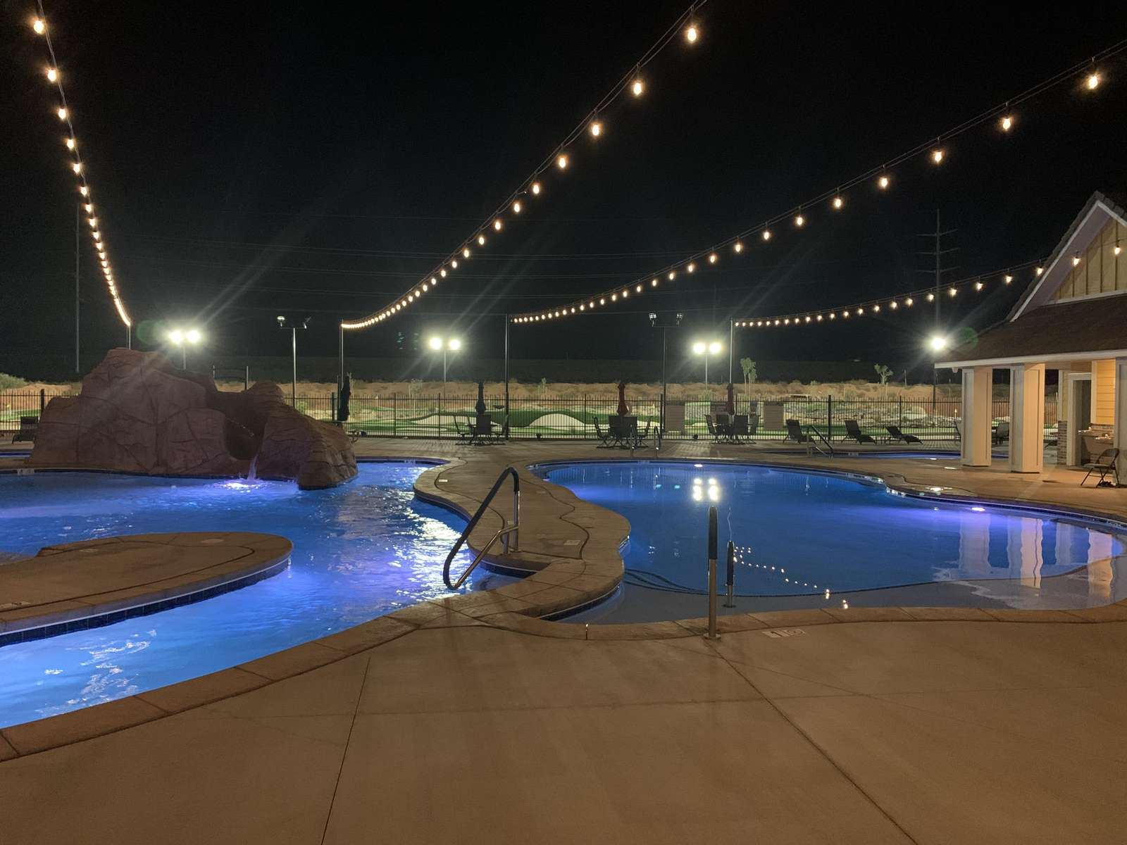 Pool lighting