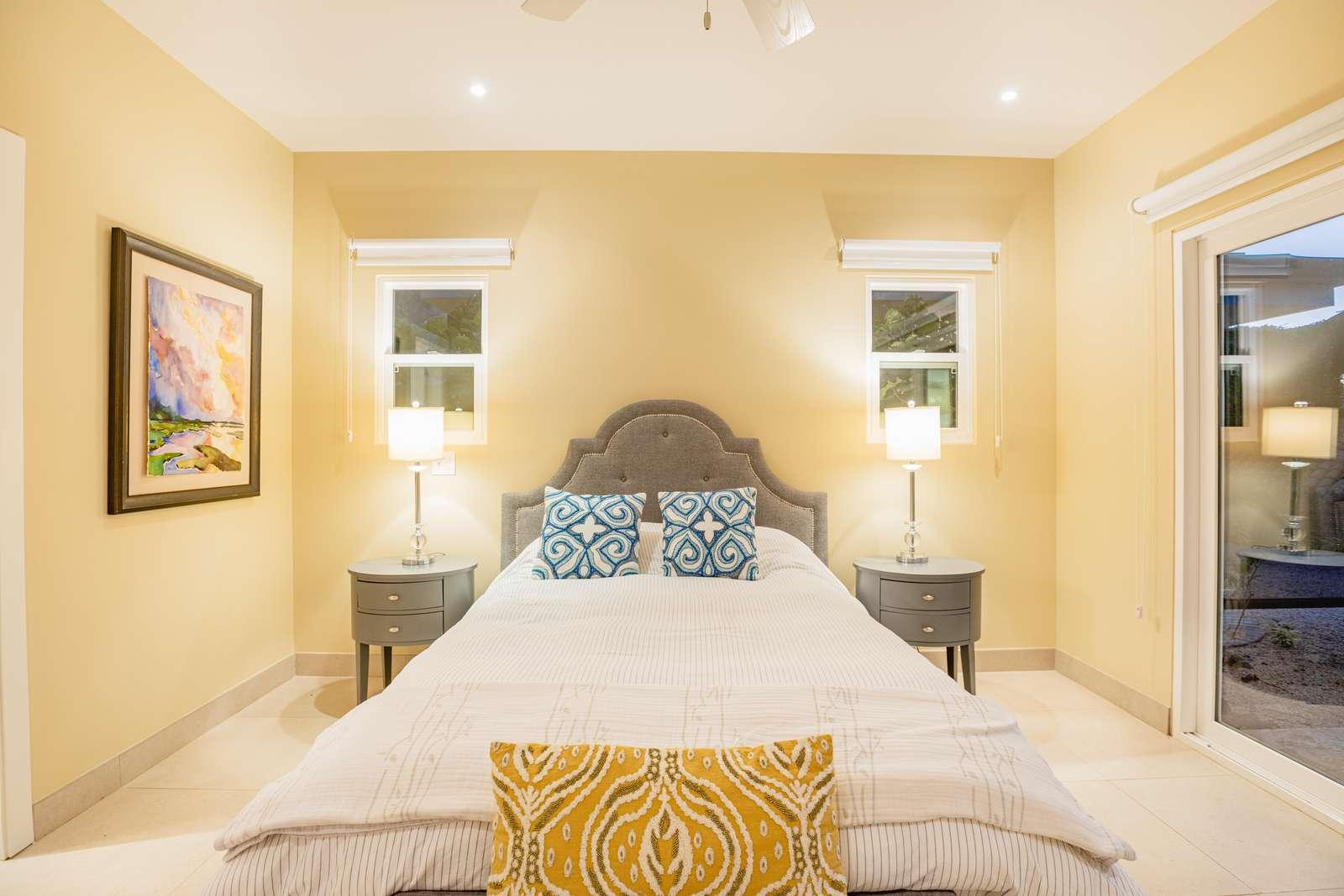 Guest Bedroom, Queen bedroom, full bathroom