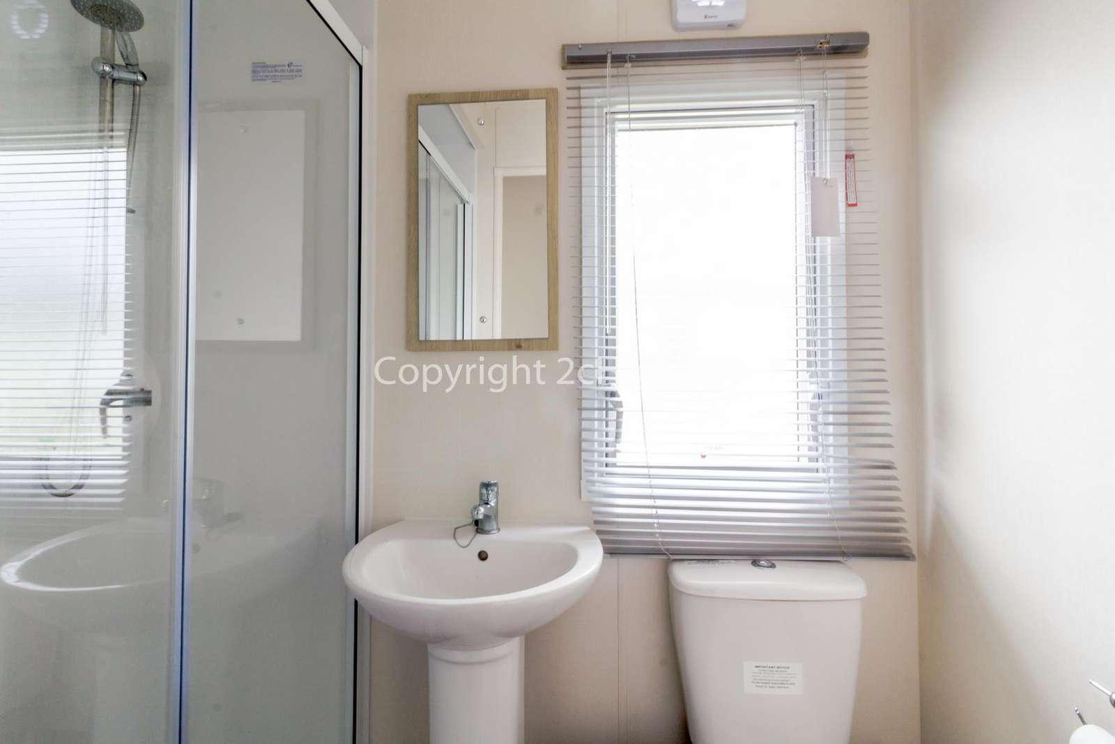 Modern family washroom!