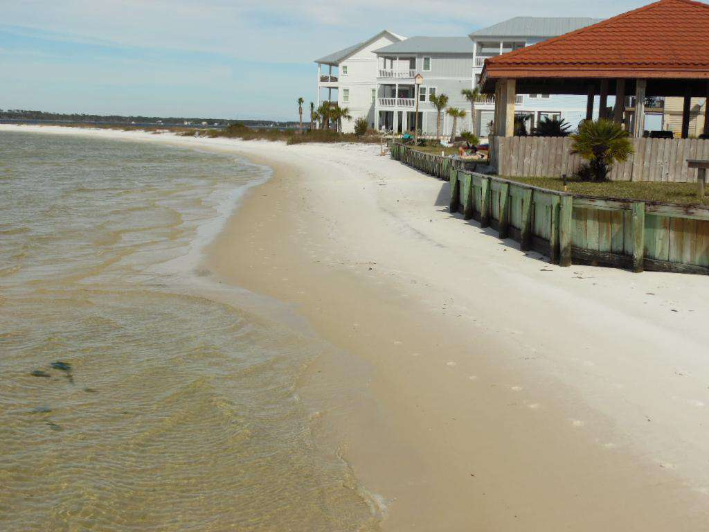 Beach Part Of Gazebo