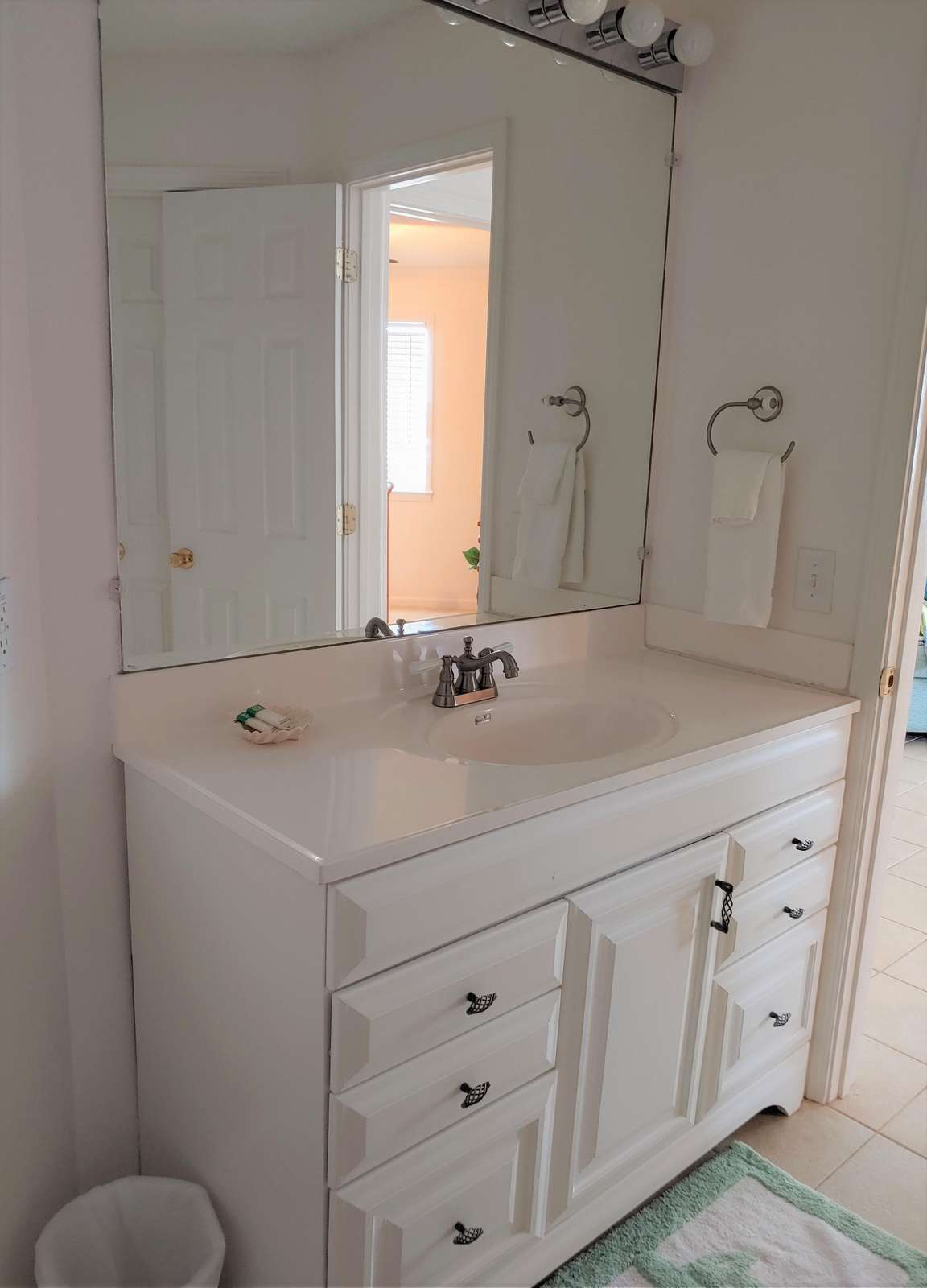 Changing Area of Bathroom