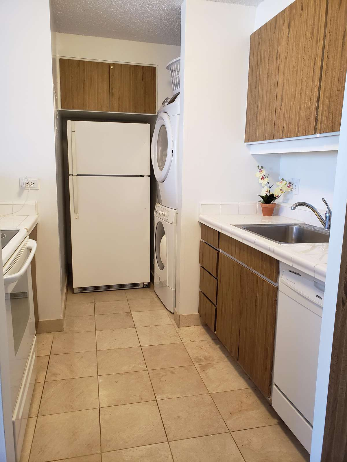 Complete Kitchen with Stove, Oven, Dishwasher and All the Basics