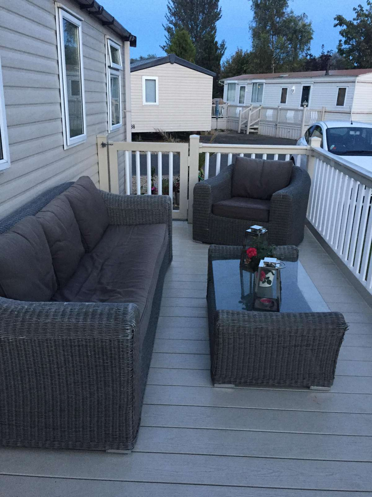 Enjoy the use of outdoor furniture and relax in the sunshine!