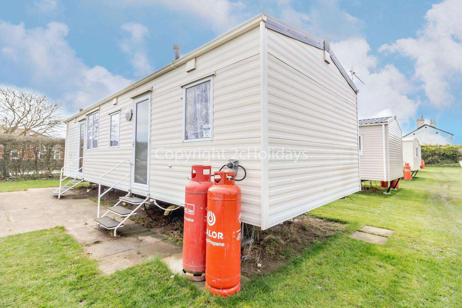 Superb 8 berth mobile home, great for families!