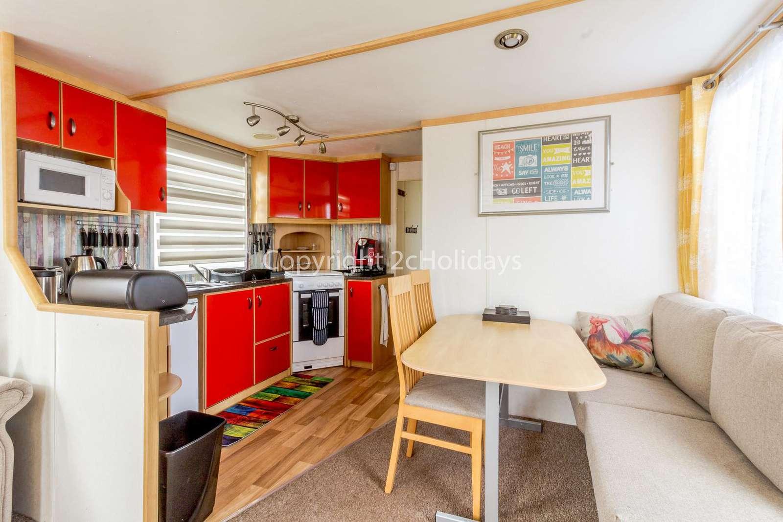 Open plan kitchen/diner!