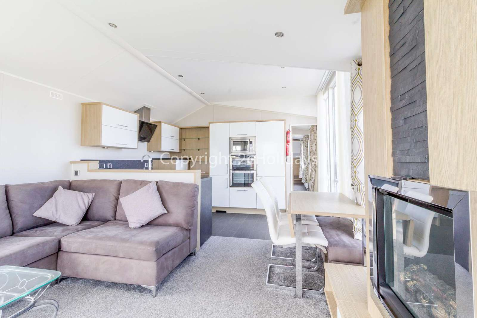 Very spacious and open planned, great for families!