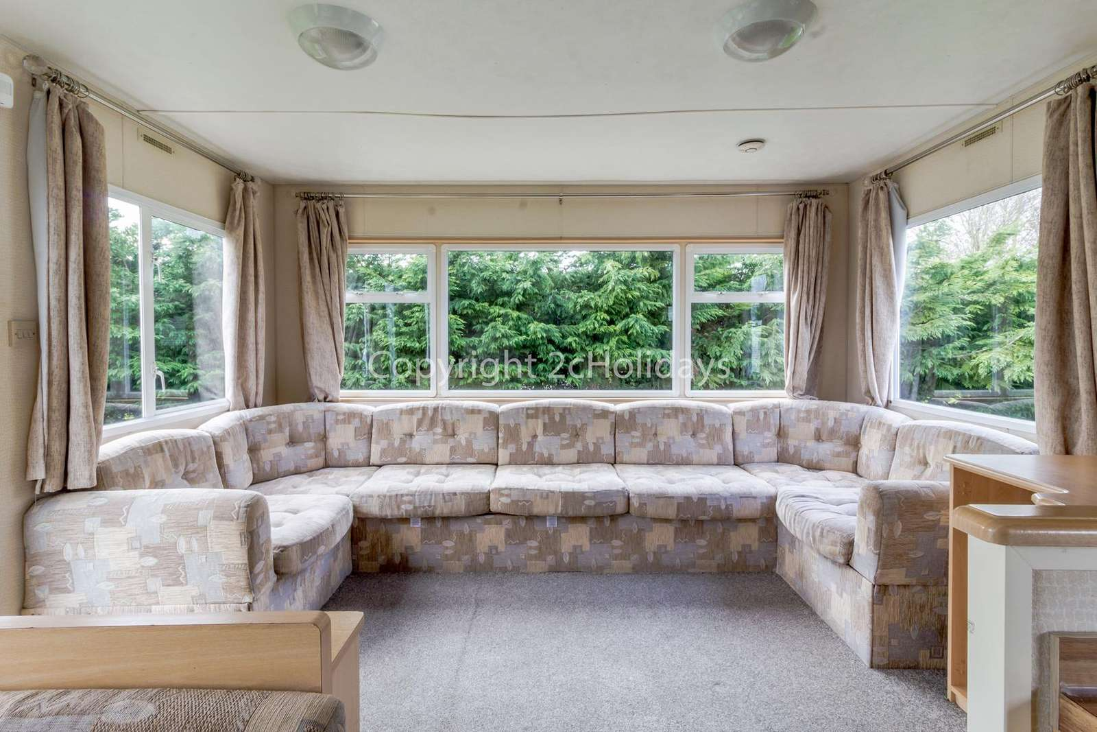 Super cosy lounge, perfect for a relaxing break