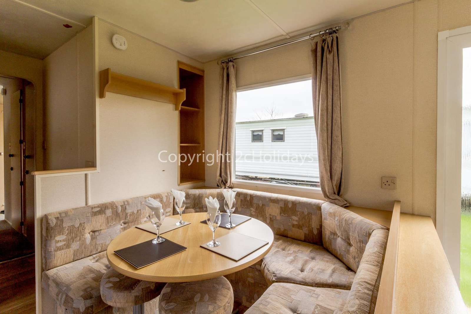 Perfect place to dine in this self-catering accommodation