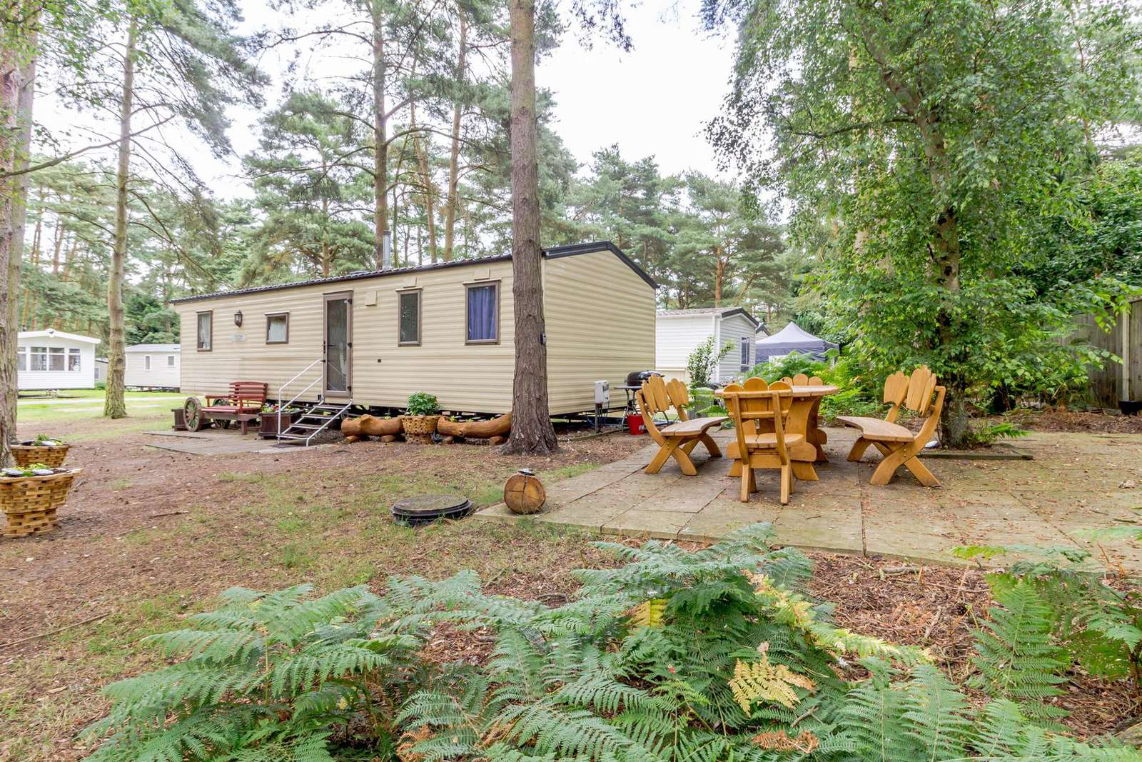 Relax in this woodland retreat! - property