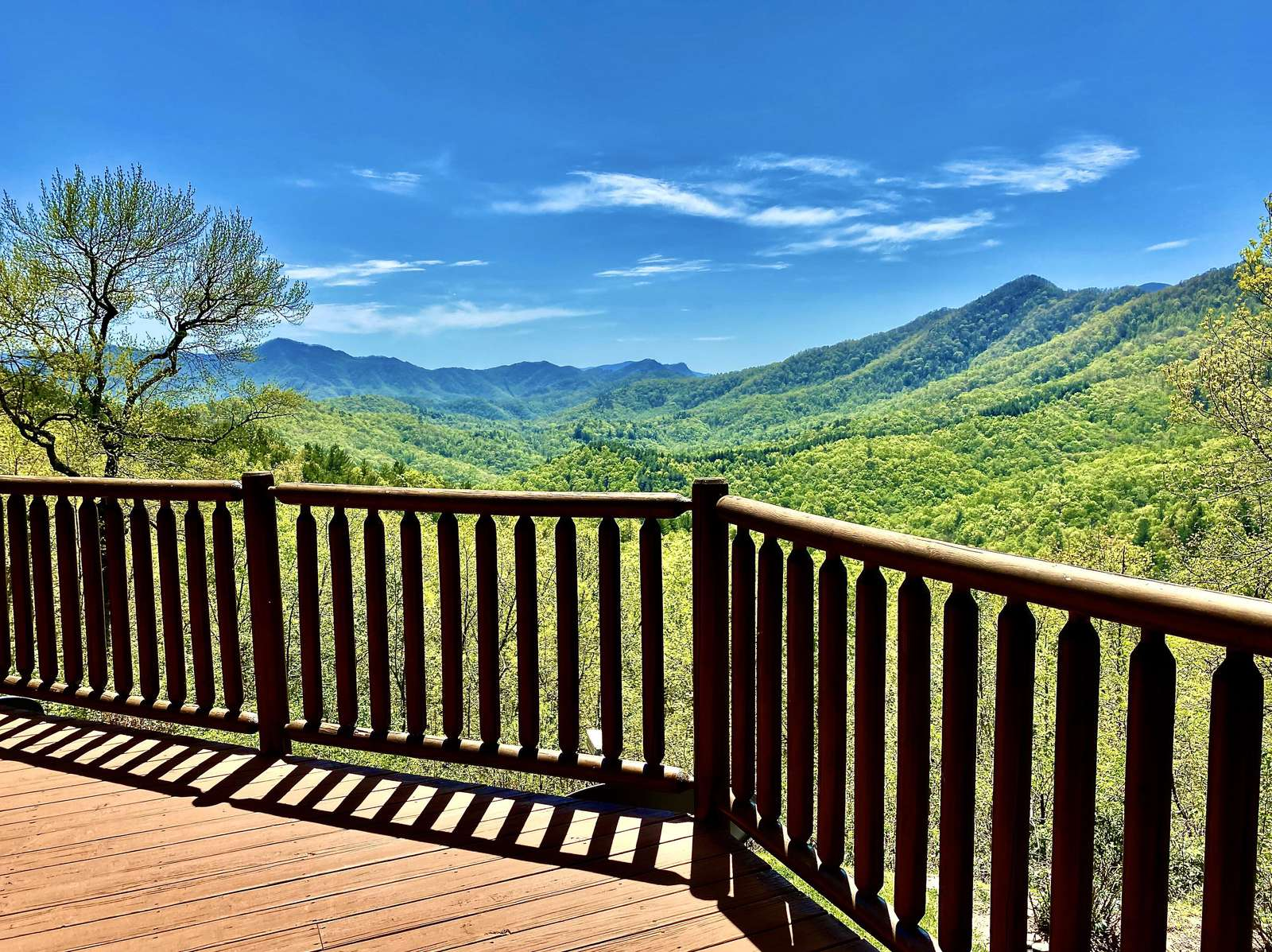 Gorgeous Long Range Views from the Back Deck