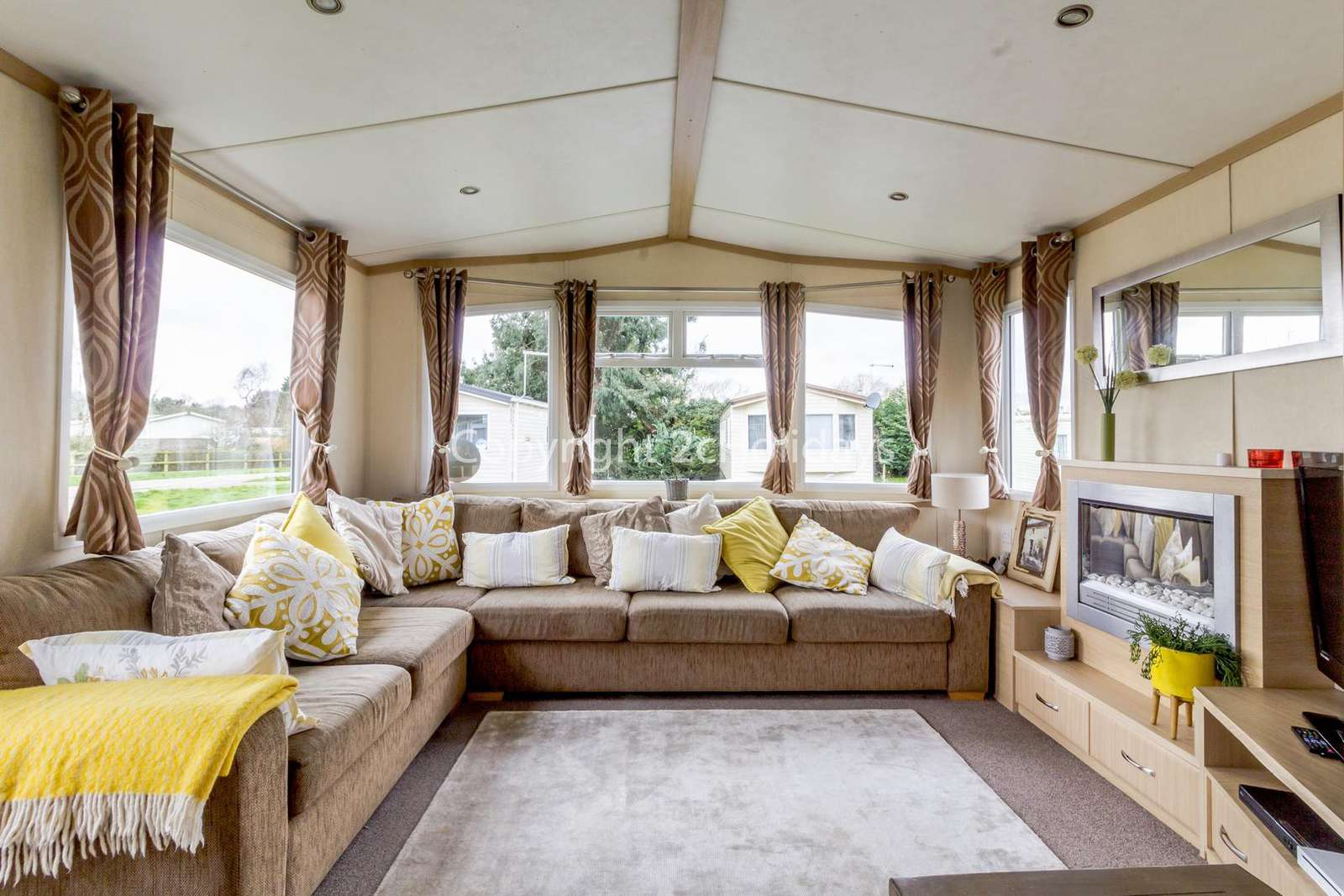 Modern living area!