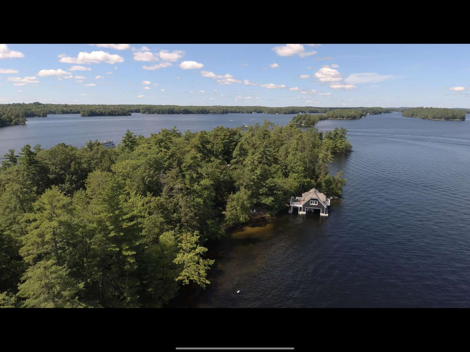 2nd Boathouse Aerial View