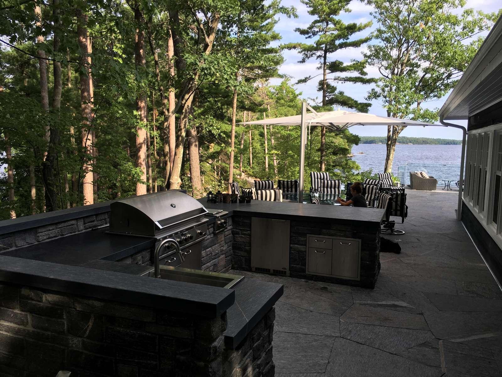 Main Cottage Outdoor Kitchen