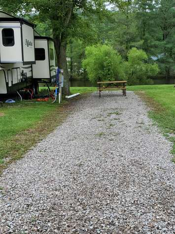 Site #60 (30 amp/Motorhome ONLY)
