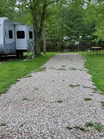 Site #66 (30 amp/Motorhome ONLY)