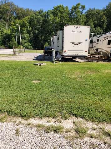 Site #77 (30 amp/grass/tent site)