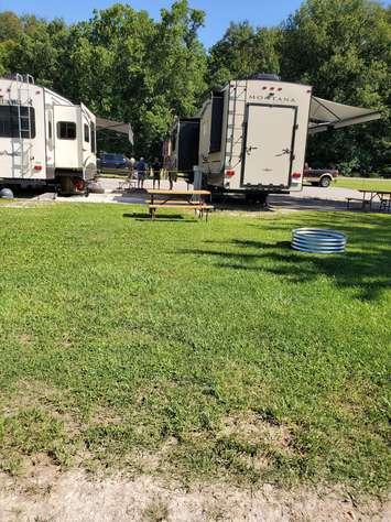 Site #79 (30 amp/grass/tent site)