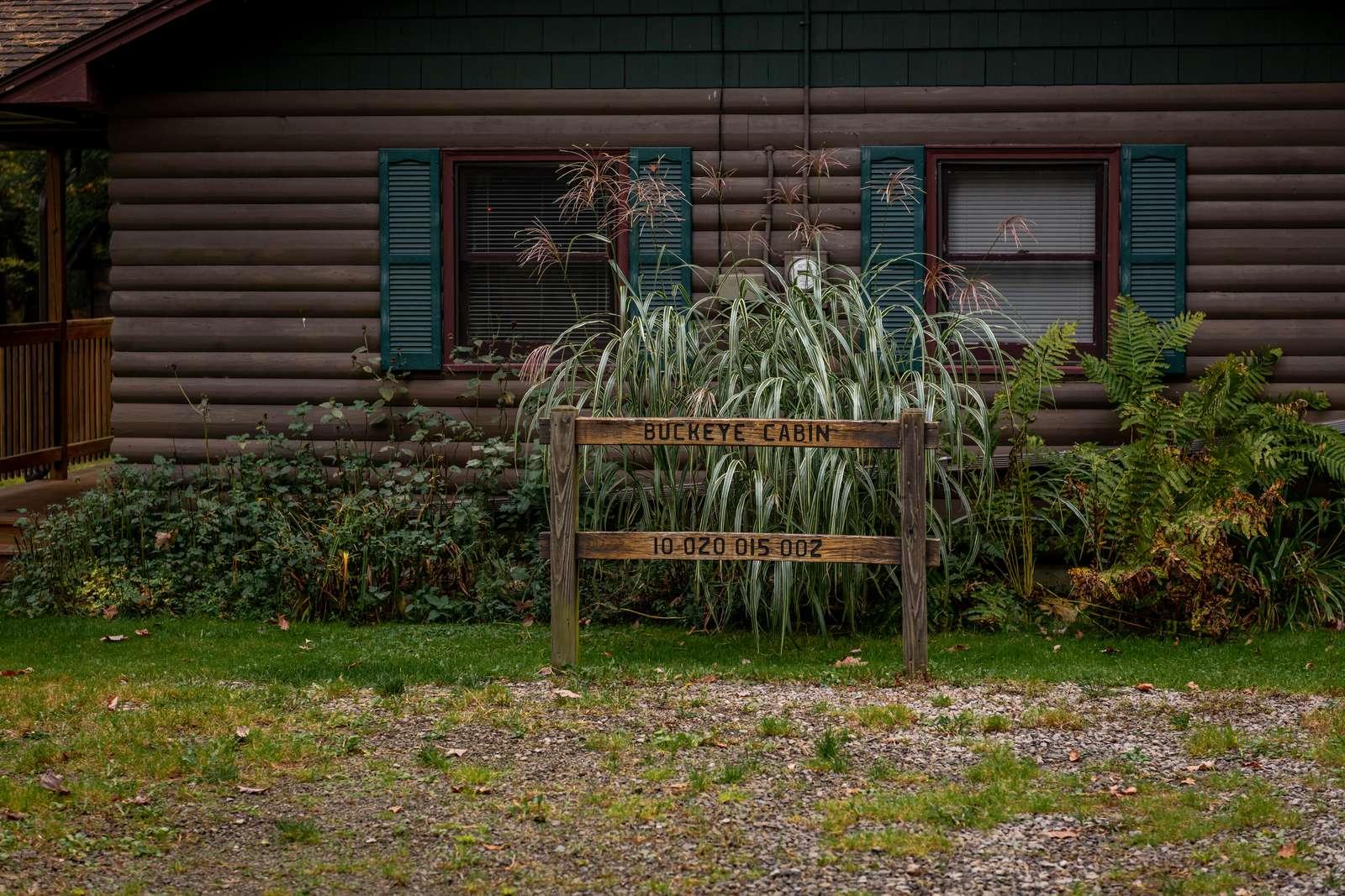 Buckeye Cabin Sign - property