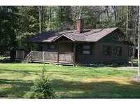 Front and Side of Buckeye Cabin thumb
