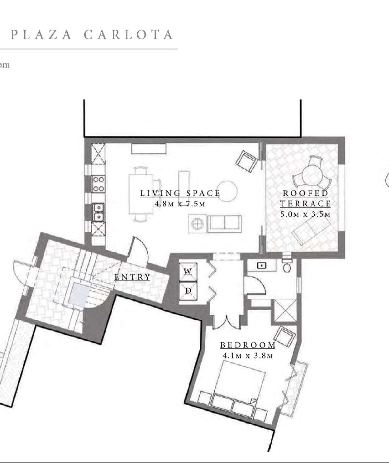 Carlota 8 Floor Plan