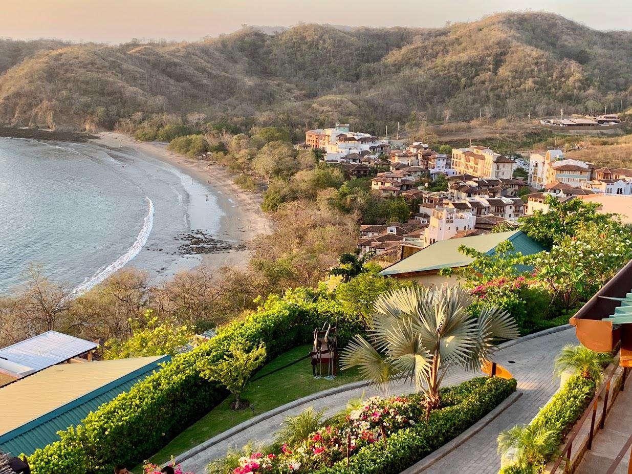 View of Las Catalinas Beach Club