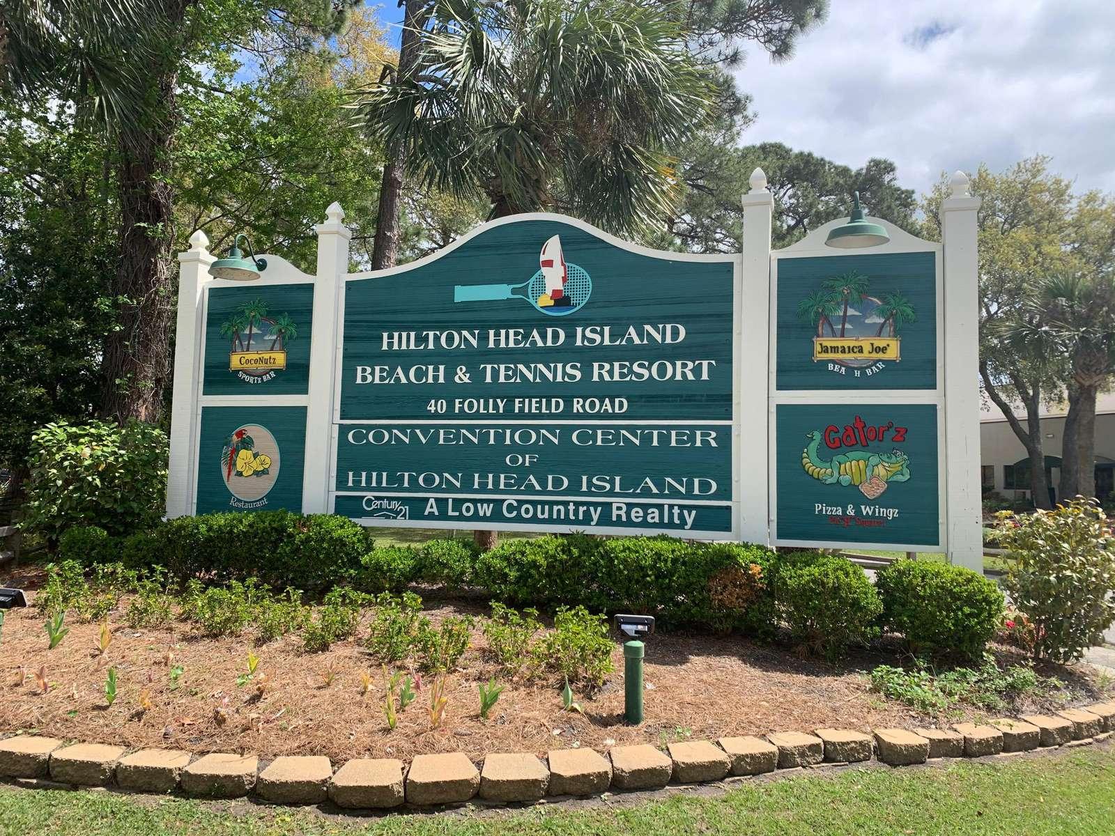 Entrance into Resort