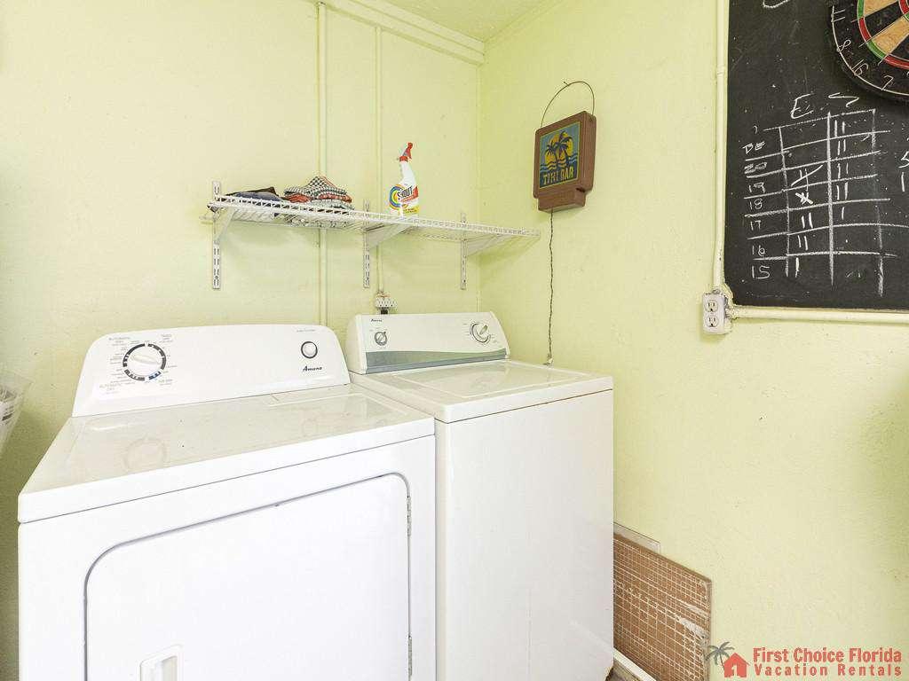 Coastal Cottage B Washer and Dryer