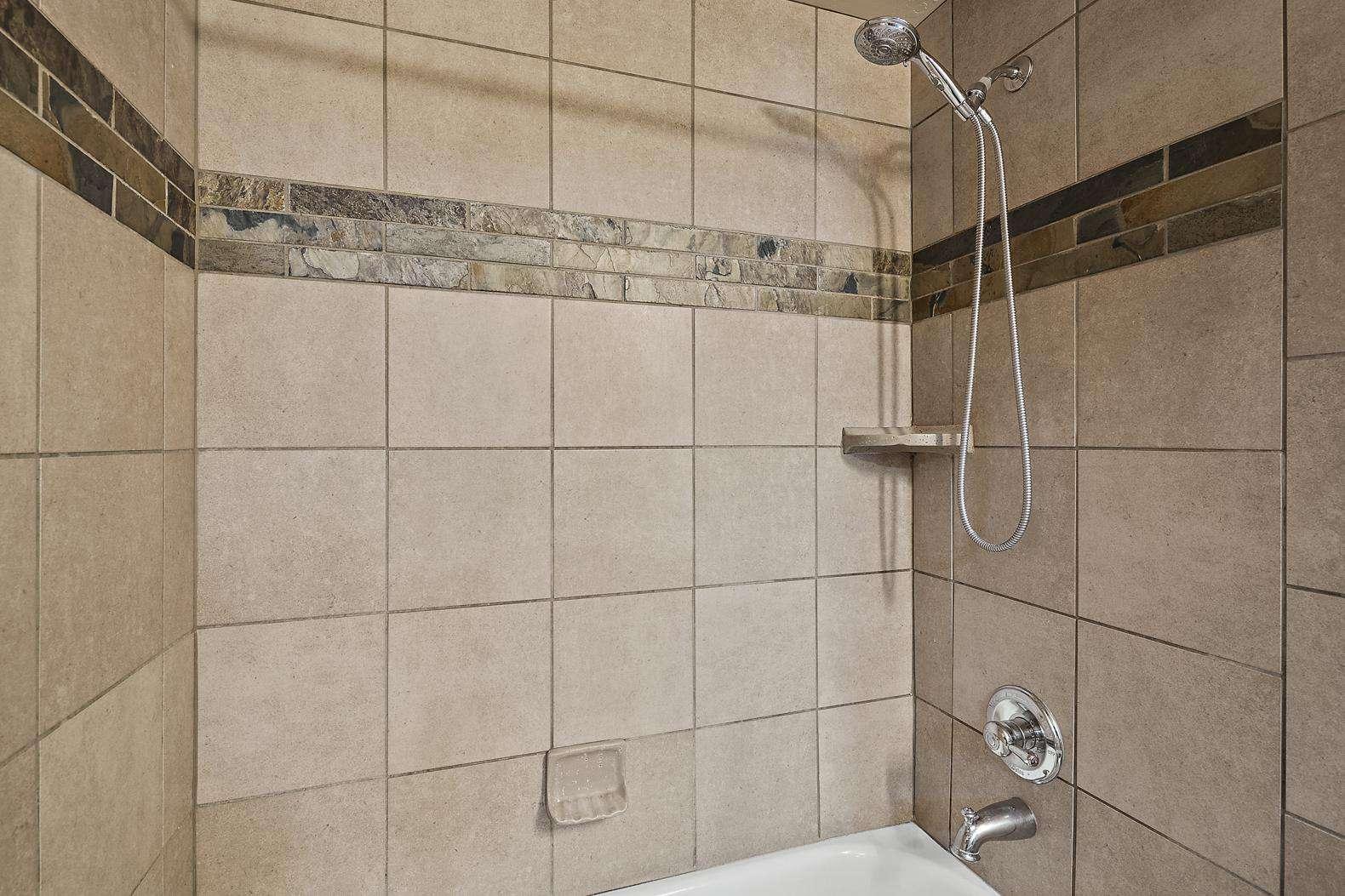 Guest bathroom tub/shower combo