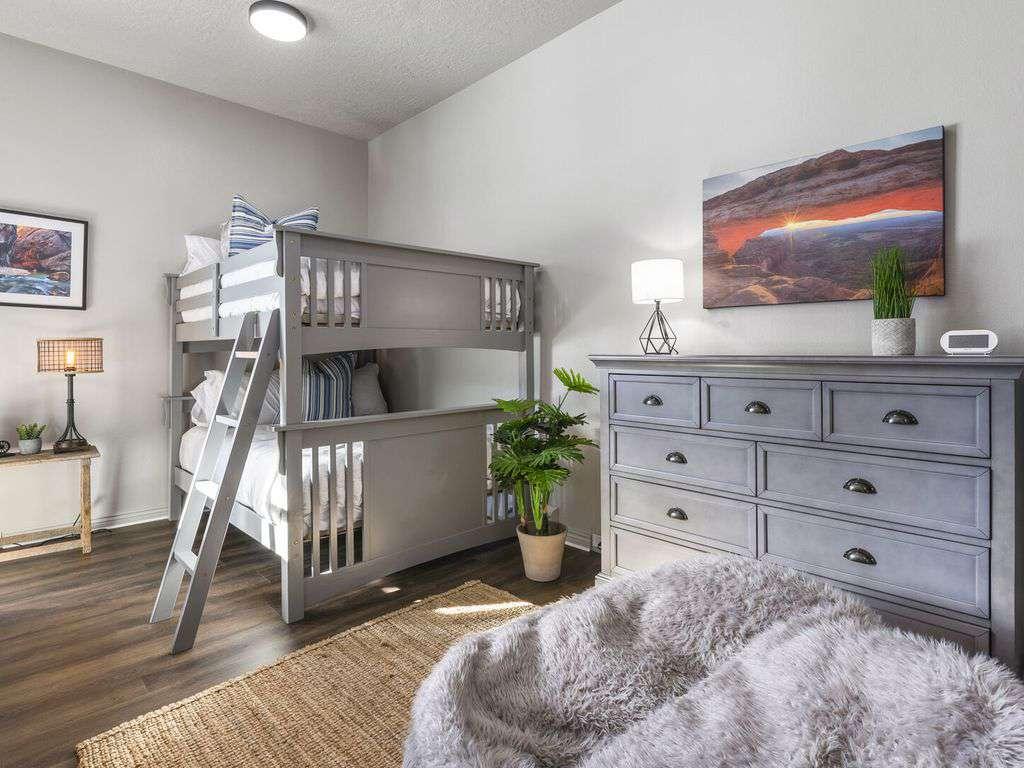 Lower level bunk room