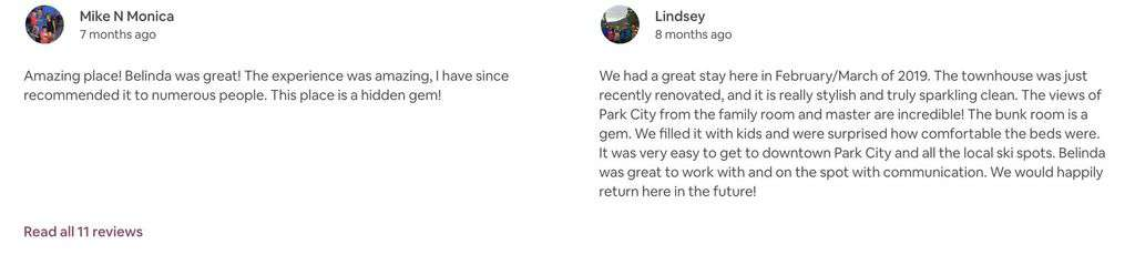 Read recent Guest reviews