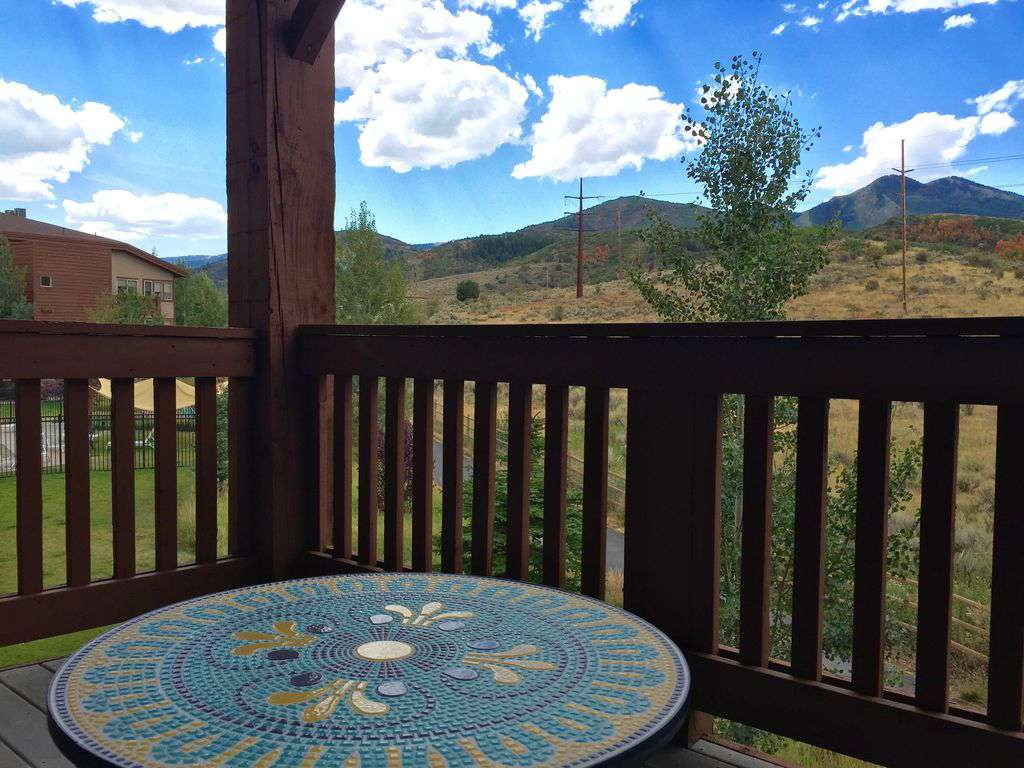 Deck view of open spaces