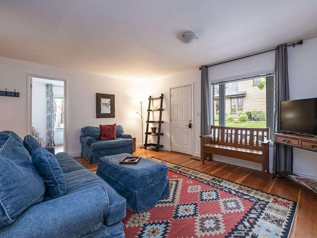 Front door opens to main living room